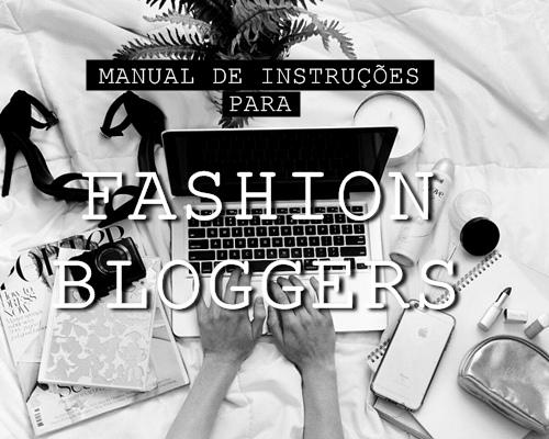 Manual para fashion bloggers