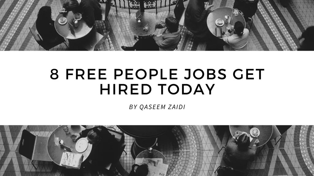 8 Free People Jobs Get Hired Today