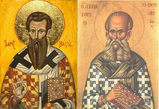 Saint Basil the Great and Saint Gregory Nazianzen