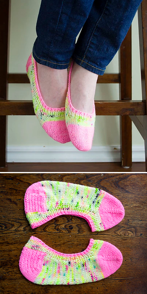 Skimmer Socks Revisited - Free Pattern
