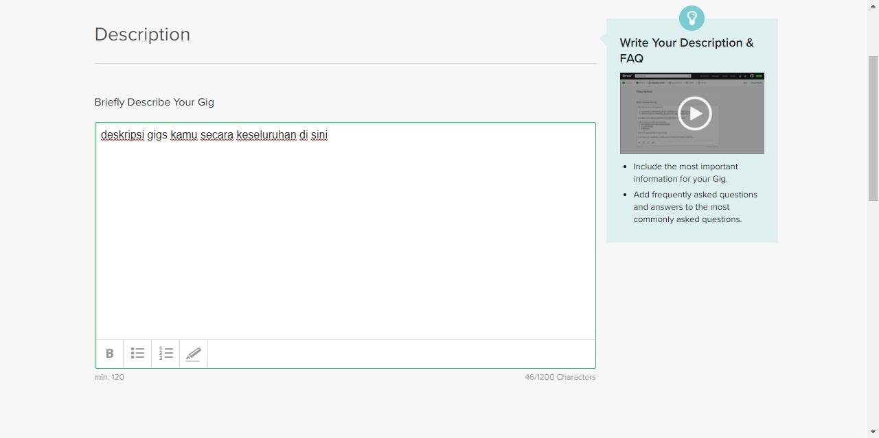 Cara Membuat Gig Di Fiverr 2020 Lengkap Mudah Ripzew Website Seputar Teknologi