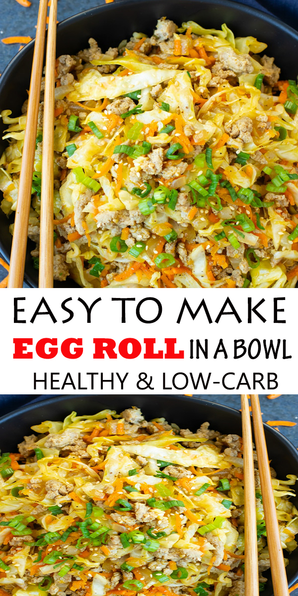 LOW-CARB EASY TO MAKE EGG ROLL IN A BOWL #LOW-CARB #EASYTOMAKE #EGGROLL #INABOWL #LOW-CARBEASYTOMAKEEGGROLLINABOWL