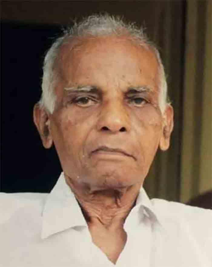 Kerala, Kasaragod, News, Former Municipal Councilor PV Kumaran of Atiyampur has passed away.