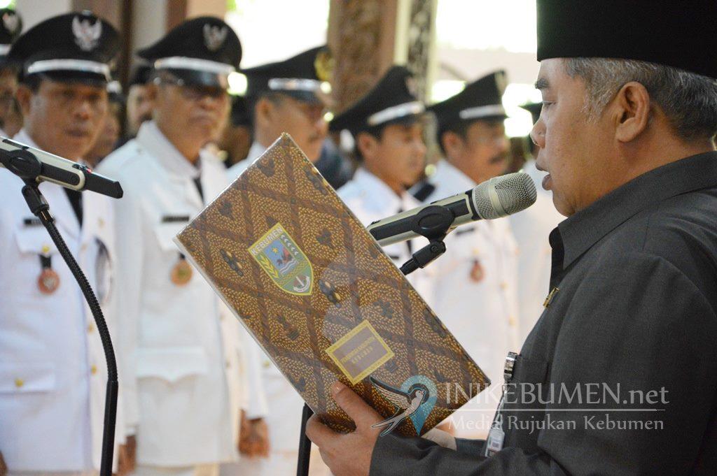 Besok Jumat, Pelantikan 128 Kades Terpilih Digelar di Pendopo Bupati Kebumen