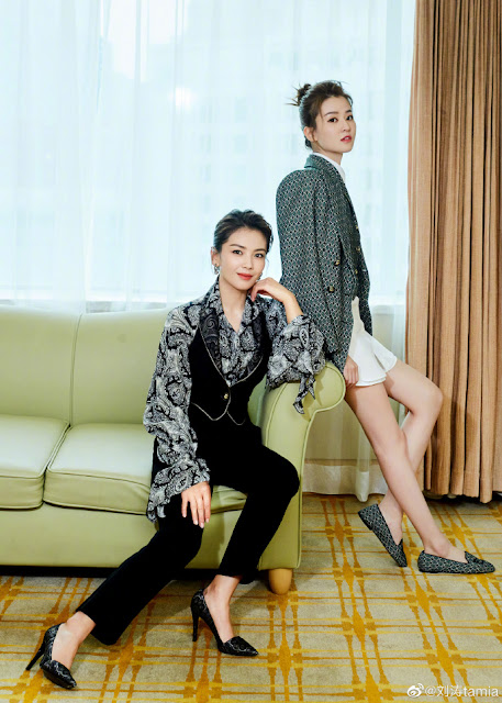 [C-Star]: It's An Ode to Joy Reunion for Liu Tao and Qiao Xin At A Fashion Event
