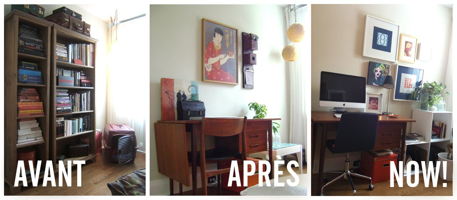maison retro toronto bureau freelance et retour au blog. Black Bedroom Furniture Sets. Home Design Ideas
