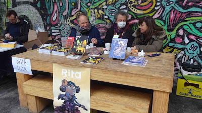 Rita au Hasard Ludique pour le festival BD6né