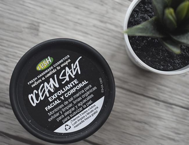 Exfoliante Facial y Corporal Ocean Salt de Lush