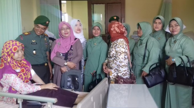 Kodim Depok Safari KB di Kecamatan Sukmajaya