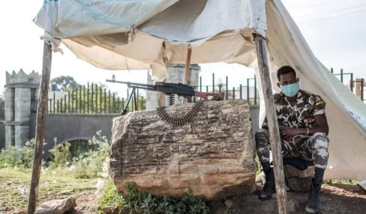 اثيوبيا أزمة تيجراي وجود القوات الأجنبية