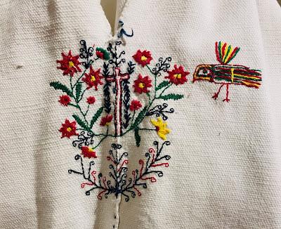 bordado de ropa masculina sur de México
