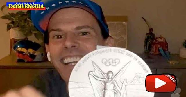 Daniel Dhers llega a Venezuela para llevarle su medalla a Chavez a su tumba