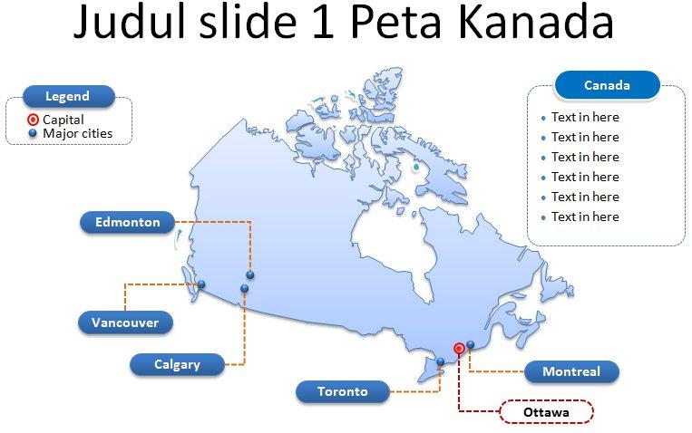 image: Slide 1 Peta Kanada