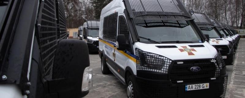 Нацгвардія придбала 45 мікроавтобусів Ford Transit