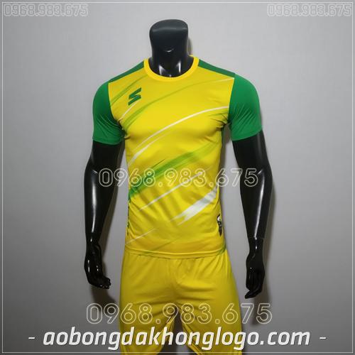 Áo bóng đá không logo TL Zavikia  màu vàng