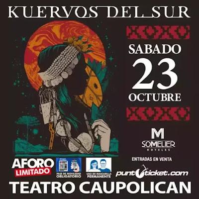 Kuervos del Sur anuncia su retorno al Teatro Caupolicán musica chilena música chilena