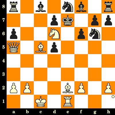 Les Blancs jouent et matent en 3 coups - Hans-Helmut Moschell vs U Auerswald, DDR, 1984