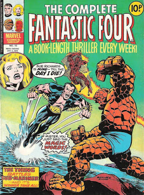 Complete Fantastic Four #15, the Sub-Mariner