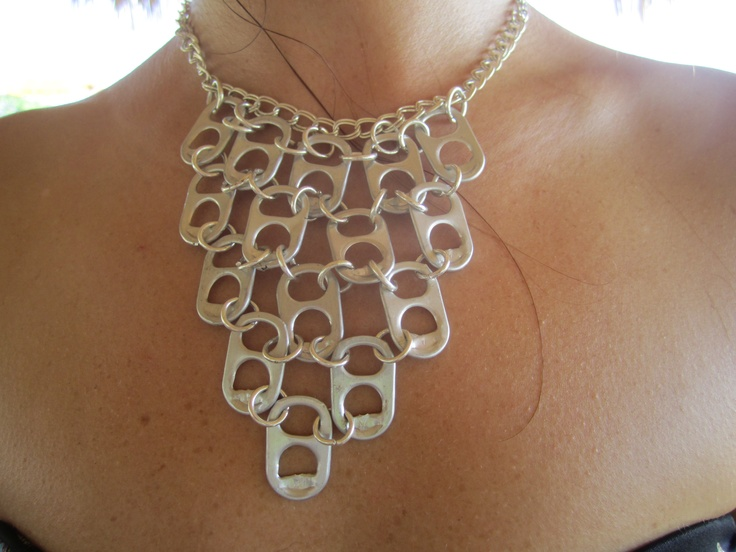 How To Recycle One Of A Kind Recycled Necklaces