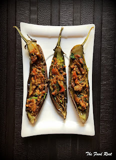 Stuffed Japanese Aubergine