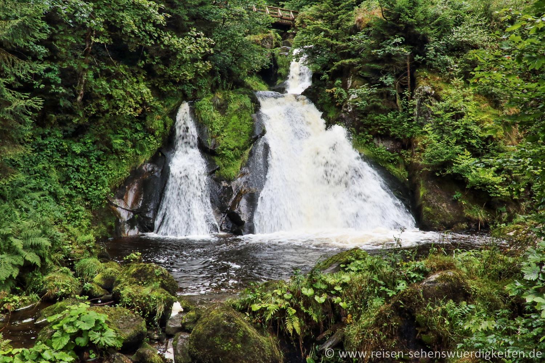 Triberger Wasserfälle, Wasserfall, Schwarzwald Sehenswürdigkeiten