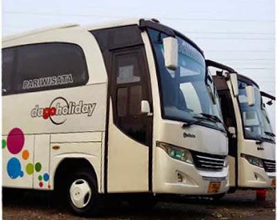 bus pariwisata dago holiday bandung