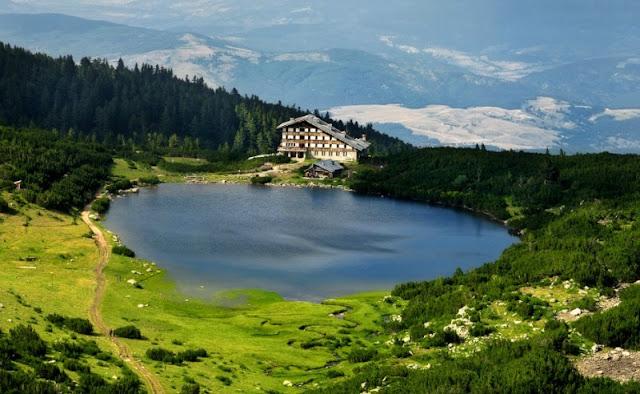 Lago Bezbog, monte Pirin, Bulgaria