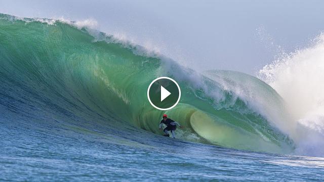 Luke Davis Subterranean Surfing Perfect Waves In Morocco