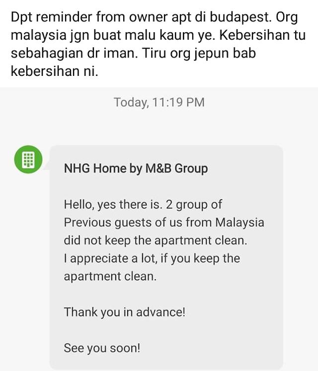Peringatan untuk pelancong Malaysia | Jangan jadi syaitooonnnn...