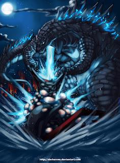 Godzilla by Darwin Nuñez