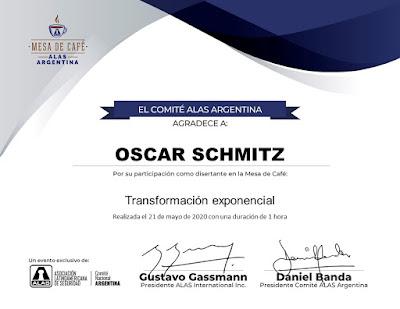 Participación Alas Argentina Seguridad Oscar Schmitz