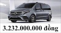 Giá xe Mercedes V250 AMG 2021