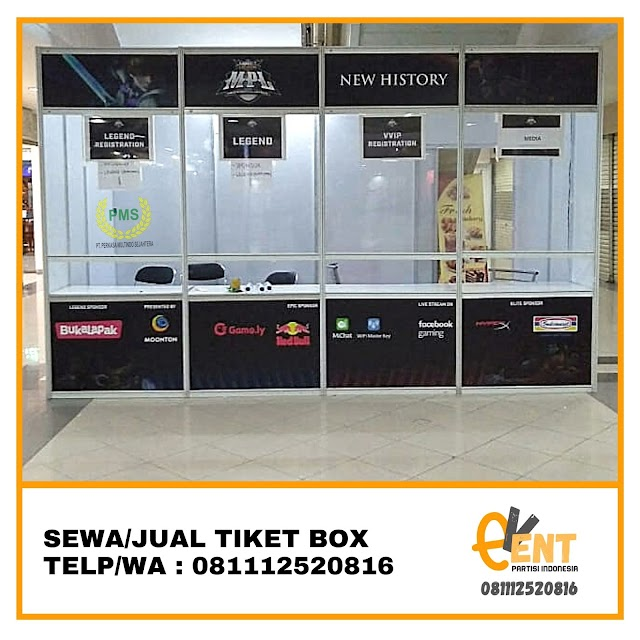 Sewa Tiket Box Event | Bogor 081112520816