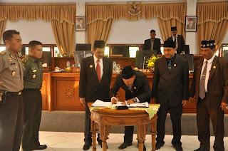 Plafon Anggaran Aceh Jaya 2016 Disepakati Rp822 Miliar Lebih