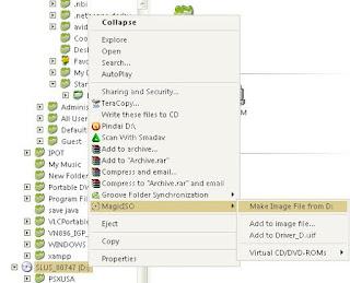 cara mudah convert kaset ps1 menjadi file image(ISO) untuk emulator psx menggunakan Magic Iso Maker