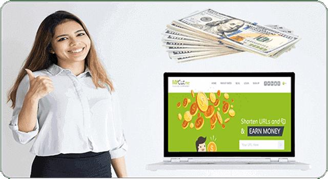 شرح طريقة ربح المال من موقع اختصار الروابط الصادق Mycut