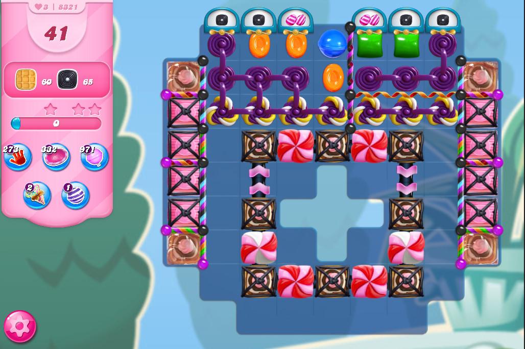Candy Crush Saga level 8321