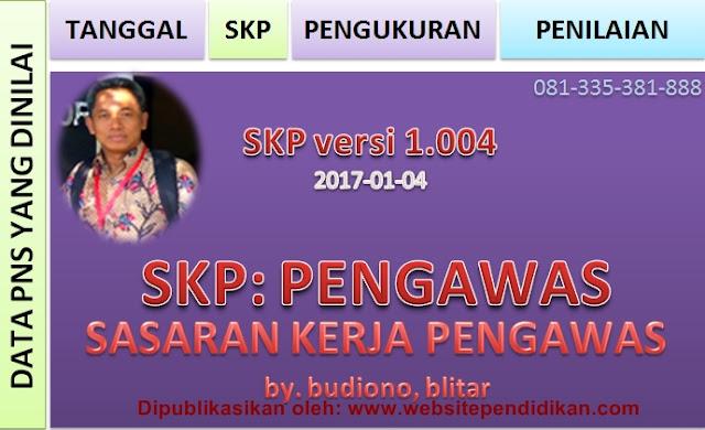 Download Aplikasi SKP Pengawas Sekolah (Format Excel)