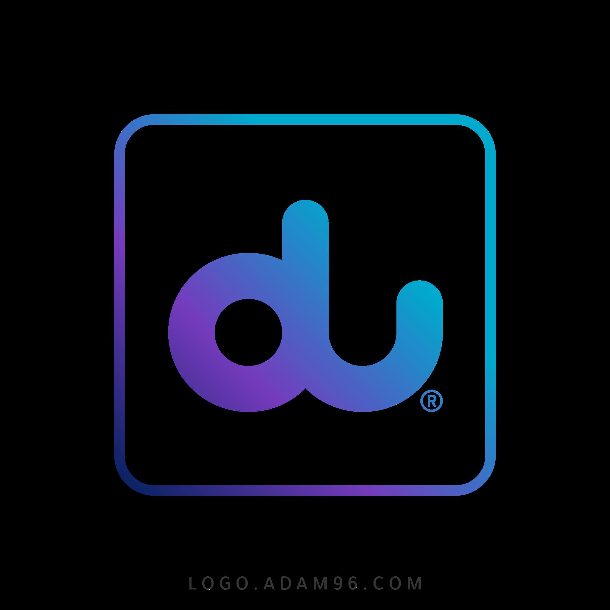 تحميل شعار شركة الإمارات للاتصالات المتكاملة (دو) لوجو رسمي بصيغة شفافة PNG