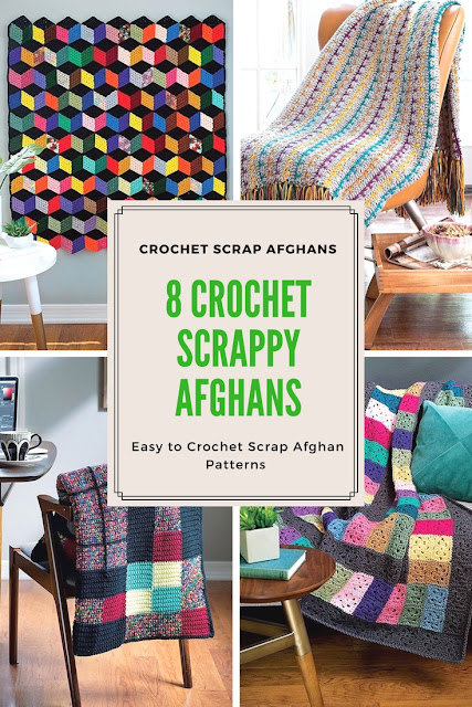 Crochet Scrappy Afghan Patterns 8 Easy to Crochet Afghan Patterns