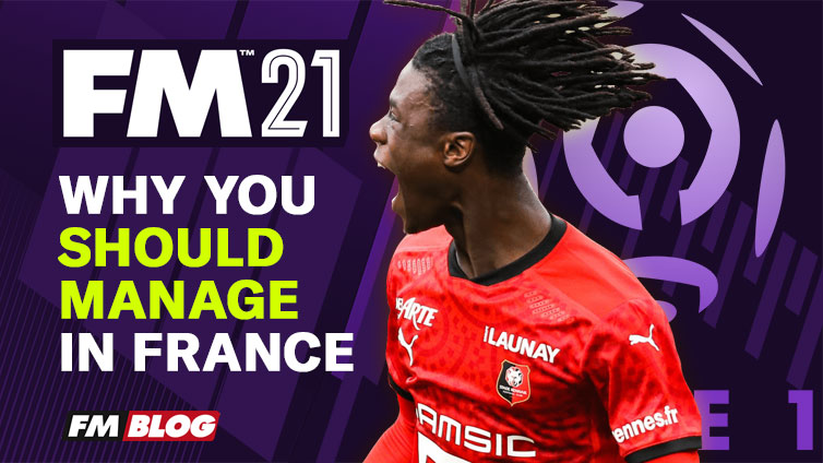 Start a Save in France in Football Manager 2021