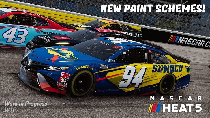 NASCAR Heat 5 Customization