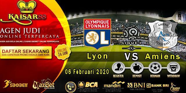 Prediksi Bola Terpercaya Liga Prancis 1 Lyon vs Amiens 6 Februari 2020