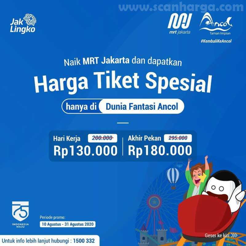 Dufan Ancol Promo Harga Tiket Spesial MRT
