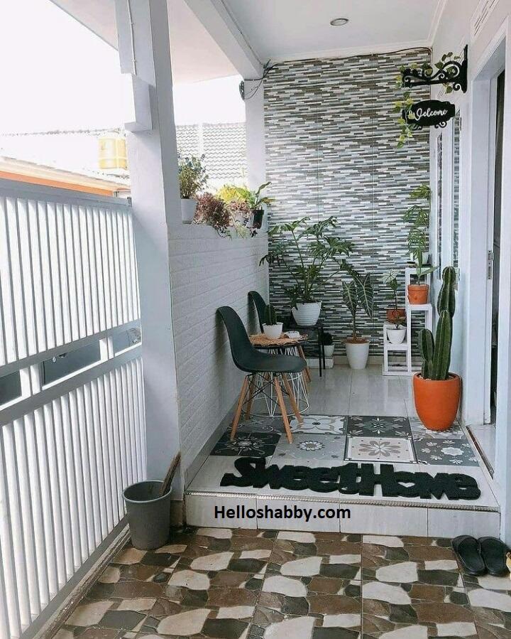 6 Model Rumah Dengan Keramik Motif Batu Alam Terlihat Lebih Mewah Helloshabby Com Interior And Exterior Solutions
