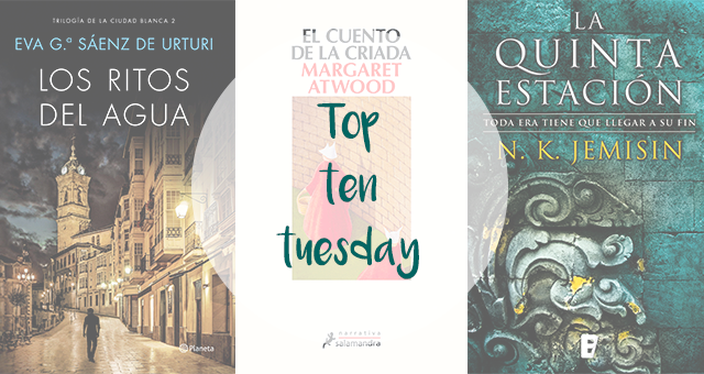 Top Ten Tuesday | Libros que pensaba leer en 2018