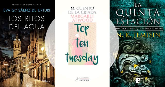 Top Ten Tuesday | Libros que pensaba leer en 2018