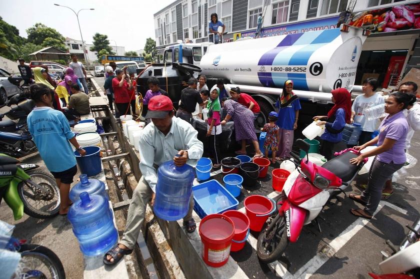 1292 Kawasan Mengalami Gangguan Bekalan Air Akibat Henti Tugas Loji Rawatan Air Sungai Selangor