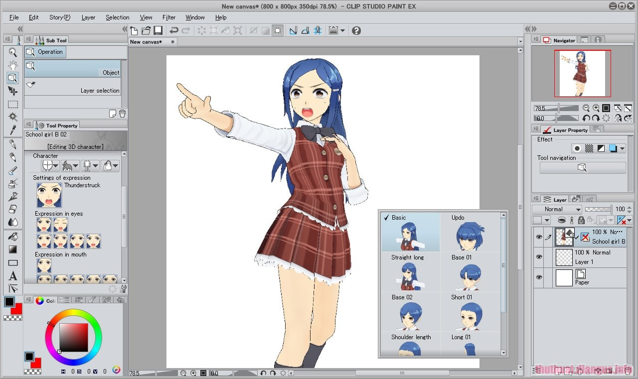 Download Clip Studio Paint EX 1.9.3 Full Crack