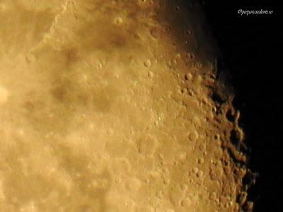 Cratere Luna fotografie Nikon,